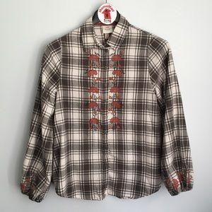 Knox Rose Plaid Button Down Shirt